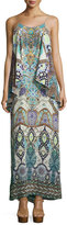 Camilla Embellished Layered Maxi Dress, Casablanca
