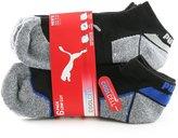 Puma Men's Cool Cell Low Cut Socks, 6 Pairs, /Grey, 2 Styles