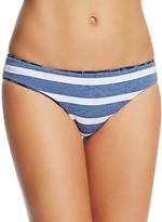 Splendid Geo Retro Stripe Reversible Bikini Bottom