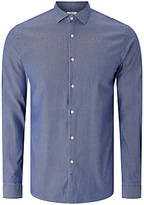 J. Lindeberg Daniel Long Sleeve Cotton Shirt, Chambray