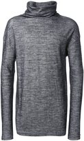 Isabel Benenato turtle neck jumper - men - Cotton/Wool - M