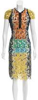 Peter Pilotto Embroidered Midi Dress
