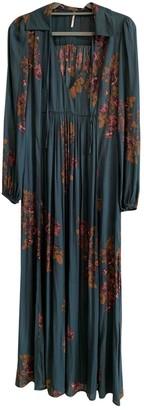 Free People Turquoise Viscose Dresses