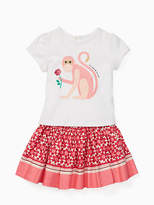 Kate Spade Babies monkey skirt set
