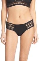 Robin Piccone Women's 'Sophia' Crochet Bikini Bottoms