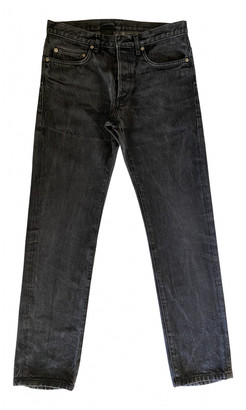 Christian Dior Anthracite Cotton Jeans