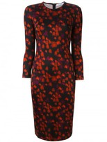 Givenchy abstract floral print dress