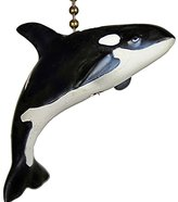 Clementine Designs Clementine Orca Killer Whale Marine Sea Life Ceiling Fan Pull