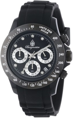 Burgmeister BM514-622A Florida Ladies watch Analogue display Chronograph with Seiko Movement - Water resistant Sporty and trendy silicone strap Fashionable women's watch
