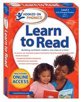 Simon & Schuster Level 2 Hooked On Phonics Learn To Read.
