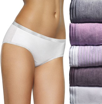 Fruit of the Loom Women's Signature 5-pack Ultra Soft Hipster Panties 5DUSKHP