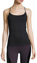 Koral Activewear Proximal Cross-Back Tank Top, Black