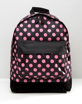 Mi-Pac Exclusive Hot Pink Polka Backpack