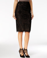 Material Girl Juniors' Lace-Detail Pencil Skirt, Only at Macy's