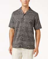 Tasso Elba Men's Palm Tree Shirt, Only at Macy's