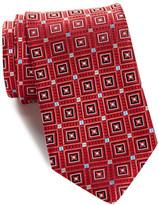 John W. Nordstrom Vestine Neat Silk Tie