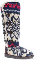 Muk Luks Women's Felicity Sweater Boots - Toggle Style
