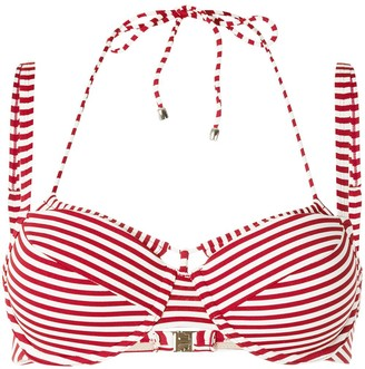 Marlies Dekkers Holi Vintage striped double-strap bikini top