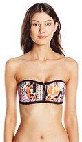 Seafolly Women's Beach Gypsy Bustier Bandeau Bikini Top