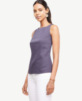 Ann Taylor Cotton Sateen Shell