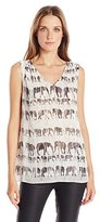 Nic+Zoe Women's Elephant March Tank