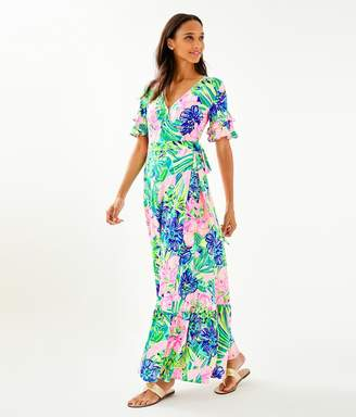 Lilly Pulitzer Emmerson Flounce Maxi Dress