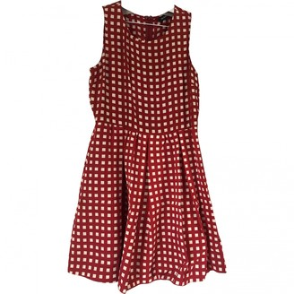 Max & Co. Red Cotton - elasthane Dress for Women
