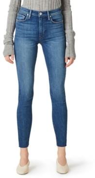 Hudson Raw-Hem Skinny Jeans