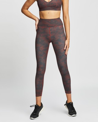 Lilybod - Women's Red Tights - Illanois Tights - Size XS at The Iconic