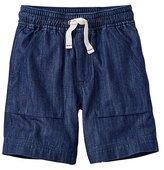 Washed Chambray Cabin Shorts