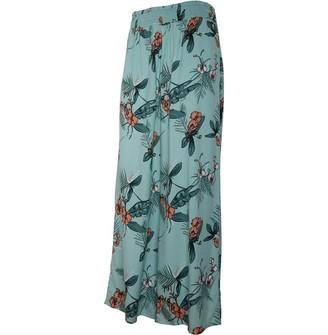 Animal Womens Woven Trousers Aqua