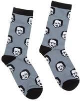 Out of Print Unisex Poe-ka Dot Socks Large