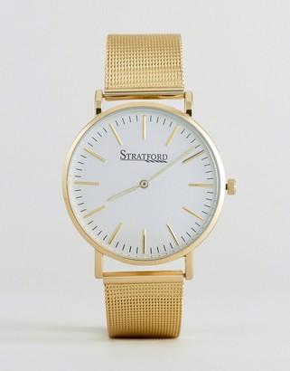 Stratford Gold Bracelet Watch