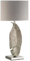 Heathfield & Co Large Leaf Table Lamp (Left Hand)