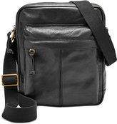 Fossil Men's Leather City Bag