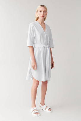 Cos Belted Cotton Shirt Dress