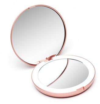 Fancii Mini Lumi LED Lighted Compact Mirror Rose Gold