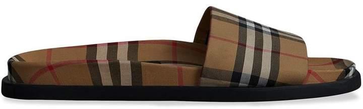 Burberry Vintage Check Slides