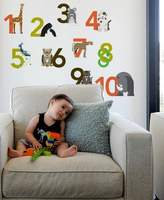 Blik Numbers Re-Stick Wall Decals