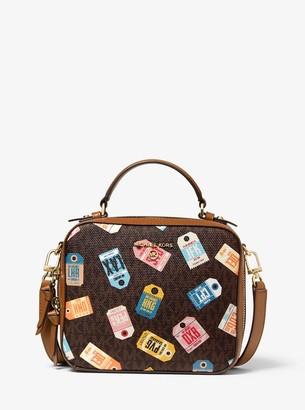 MICHAEL Michael Kors Jet Set Medium Printed Logo Crossbody Bag