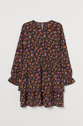 H&M H&M+ Short Dress - Orange