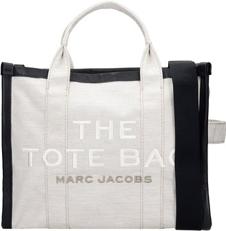 Marc Jacobs Tote In White Fabric