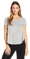 Yummie by Heather Thomson Women's Jersey Burnout Tee Withside Vents
