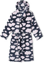 NEW Tilii Essentials Hooded Gown Navy