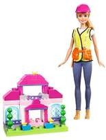 Barbie Careers Builder Doll and Playset