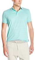 French Connection Men's Trailer-Stripe Polo Shirt