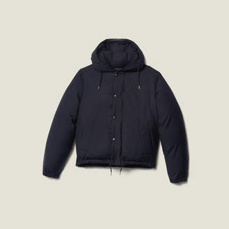 Sandro Short Padded Jacket With Hood
