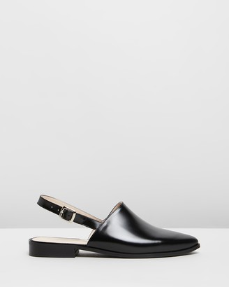 Jonak Antonelo Leather Slingback Flats