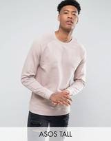 Asos TALL Sweatshirt In Pink