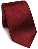 Armani Collezioni Tilted Box Silk Tie